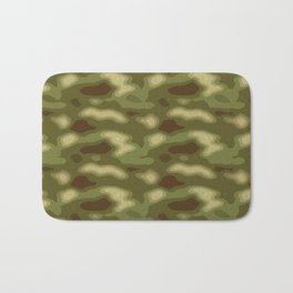 Camouflage Pattern Bath Mat
