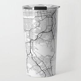 Minimal City Maps - Map Of San Francisco, California, United States Travel Mug
