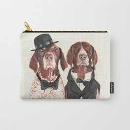 german short hair pointers - F.I.P. @ifitwags (The pointer brothers) Carry-All Pouch