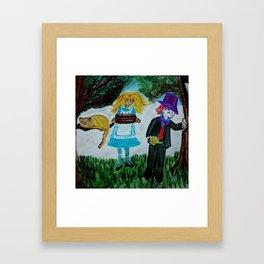 Alice, Happy Birthday Lewis Carroll Framed Art Print