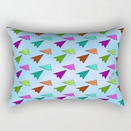 Paper Fliers Rectangular Pillow