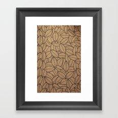 Lots-o-Leaves Framed Art Print