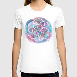 Watercolor Mandala II T-shirt