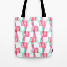 Cheery Triangles Tote Bag