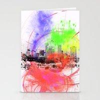 skyline Stationery Cards featuring Skyline by Fine2art