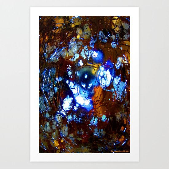 Cracked Illumination Art Print