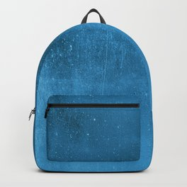 Abstract classic blue  gradient watercolor pattern Backpack