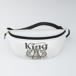 Chess Piece King Chess Player Gift Fanny Pack