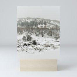 Snowing Forest Mini Art Print