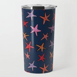 Starfishes in deep ocean Travel Mug