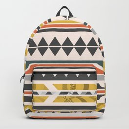 Aztec pattern Backpack