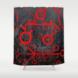 Tech Shower Curtain