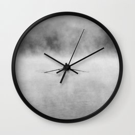 Rowing On The Chattahoochee Wall Clock