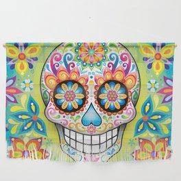 Sugar Skull Art (Jubilee) Wall Hanging