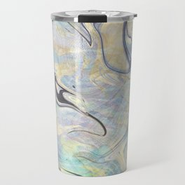 Mermaid Marble Travel Mug