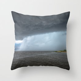 East Point Lighthouse Deluge Throw Pillow