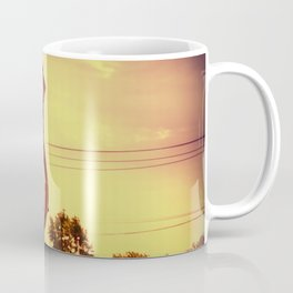 Historic route 66 highway sign. Coffee Mug
