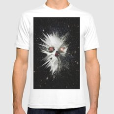 Big Bang Mens Fitted Tee SMALL White