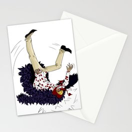 Stumbling down - One Piece Stationery Cards