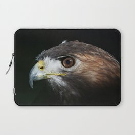 Sparkle In The Eye - Red-tailed Hawk Laptop Sleeve