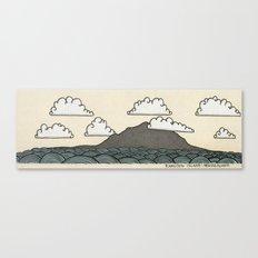 Rangitoto Island - New Zealand Canvas Print