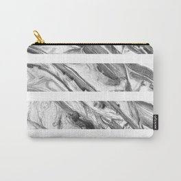 Coastal Rock- Stripes Carry-All Pouch