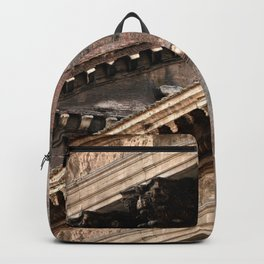 Pantheon of Rome Side View Backpack