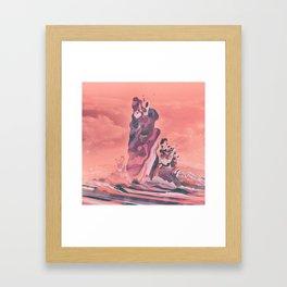 TECHNICOLOR TAR PITS (10.22.15) Framed Art Print