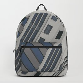 Singapur Skyline Glas Window Front Backpack