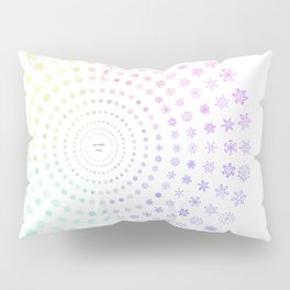 Three-hundred and ninety-six snowflakes Pillow Sham