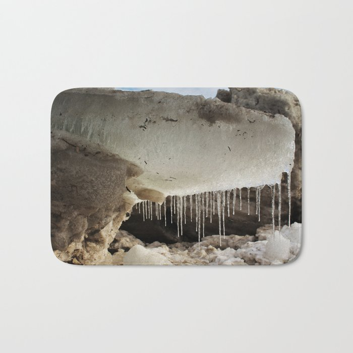 T Rex in Ice Bath Mat