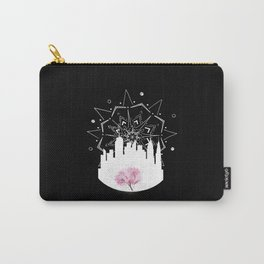 New York Cherry Blossoms Carry-All Pouch