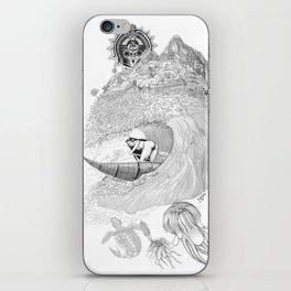 Machu Qun Tiksi Wiraqucha iPhone Skin