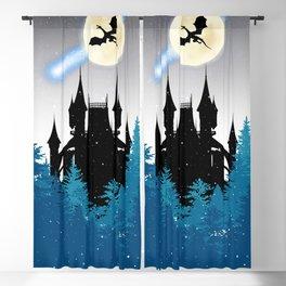 Dragon castle Blackout Curtain