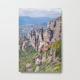 High up in the mountains Metal Print