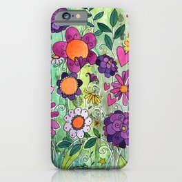 Purple Plum Parfait iPhone Case