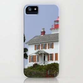 Historic Yaquina Bay Lighhouse iPhone Case