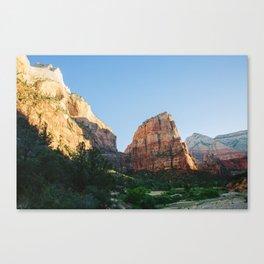 Angels Landing - Zion National Park Canvas Print