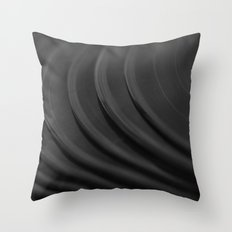 Vinyl I Throw Pillow