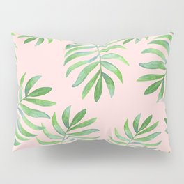 Shake Your Palm Palms - Palm Leaf Quote Pillow Sham