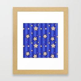 Star 2 Framed Art Print