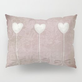 Lost love hearts in antique style Pillow Sham