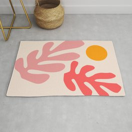 Henri Matisse - Leaves - Blush Rug