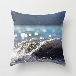 Splash Over Throw Pillow