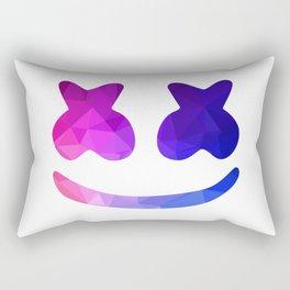 marshmello face Rectangular Pillow