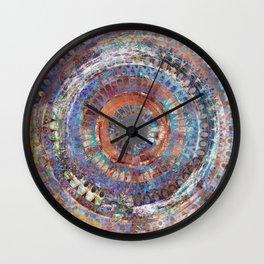 LA TURBINA MANDALA ART Wall Clock