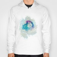 planet Hoodies featuring Secret Planet by SensualPatterns