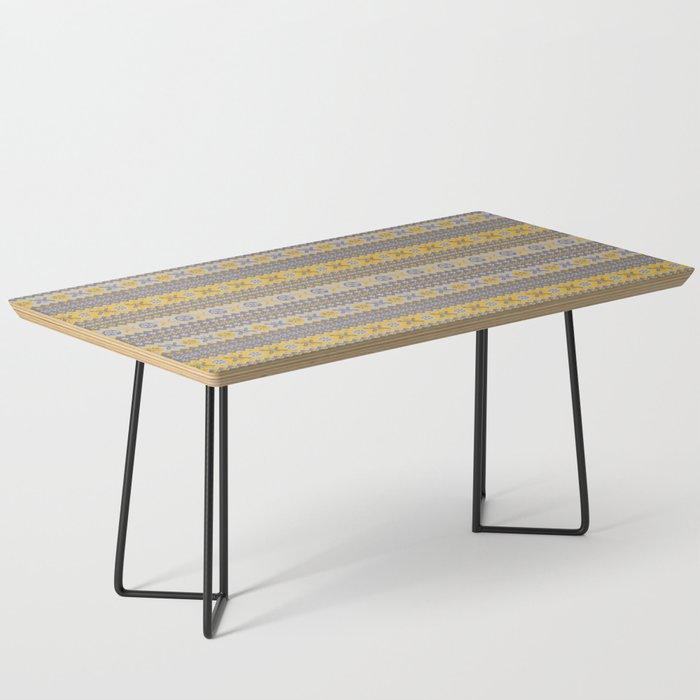 Granny's Fairisle - Honey Yellow Coffee Table