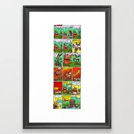 Roofles Smother Framed Art Print