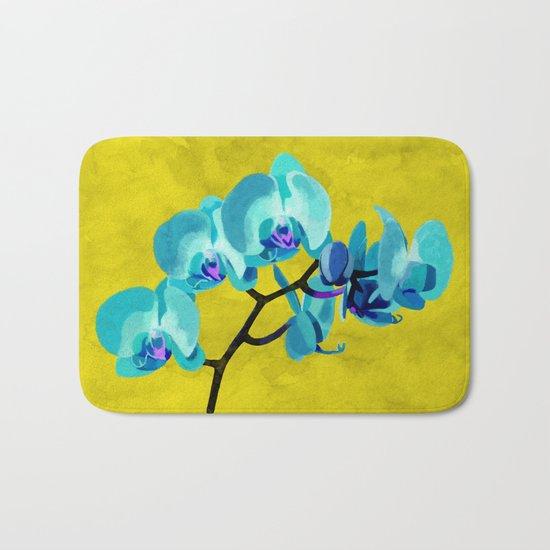Orchid blue Bath Mat